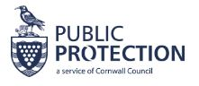 Public Protection Cornwall